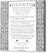 Cartouches, 1544 Acrylic Print