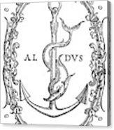 Cartouches, 1545 Acrylic Print