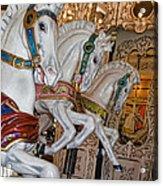 Caruosel Horses Acrylic Print