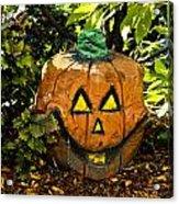 Carved Pumpkin 5 Acrylic Print