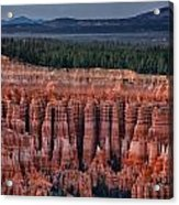 Carved Sandstone Cliffs Acrylic Print