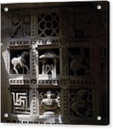 Carvings Of Jainism Acrylic Print