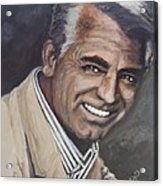 Cary Grant Acrylic Print by Shirl Theis