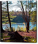 Cary Lake In The Fall Acrylic Print