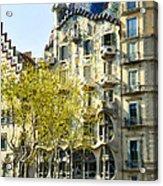 Casa Batllo - Barcelona Spain Acrylic Print