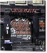 Casa Rosso Amsterdam Acrylic Print