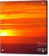 Casablanca Sunset Acrylic Print