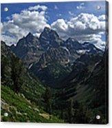 Cascade Canyon North Fork Acrylic Print