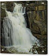 Cascade Creek Under The Bridge Acrylic Print by Bill Gallagher