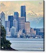 Emerald City Acrylic Print