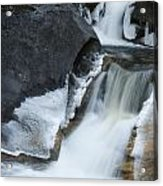Cascades At Kent Falls Acrylic Print