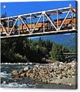 Cascades Rail Bridge Acrylic Print