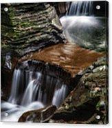 Cascading Glen Acrylic Print