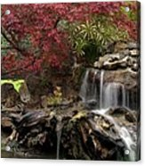 Cascading Waterfall Acrylic Print