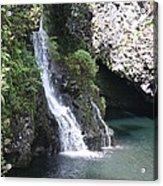 Cascading Waterfalls Acrylic Print