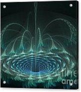 Cascading Wormhole Acrylic Print