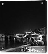 Cascais At Night Acrylic Print