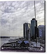 Case Of The Missing P Aka As Pier 17 Acrylic Print