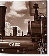 Case Steam Acrylic Print