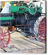 Case Steam Tractor Acrylic Print