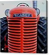 Case Tractor Grille Acrylic Print