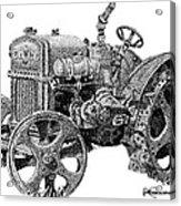 Case Tractor Acrylic Print