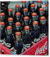 Classic Case Of Coca Cola Acrylic Print