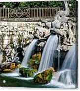 Caserta Palace Fountain 1 Acrylic Print