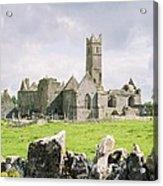 Cashel Abbey Acrylic Print