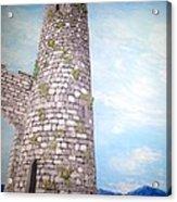 Cashel Tower Ireland Acrylic Print