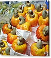 Cashew Fruit - Mercade Municipal Acrylic Print