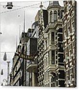 Casino Arcade Damrak Amsterdam Acrylic Print