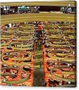 Casino Floor Marina Bay Sands Singapore Acrylic Print