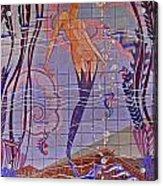 Casino Mermaid Acrylic Print