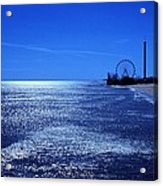 Casino Pier Seaside Heights Acrylic Print