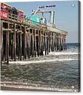 Casino Pier  Seaside  Nj Acrylic Print by Neal Appel