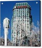 Casino Under Ice Acrylic Print