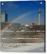 Casinos And Rainbows Acrylic Print