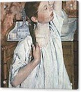 Cassatt, Mary Stevenson 1845-1926. Girl Acrylic Print