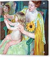 Cassatt's Mother And Child Acrylic Print