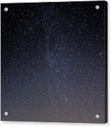 Cassiopeia And Andromeda Galaxy 01 Acrylic Print