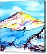 Caste Rock Antarctica Acrylic Print by Carolyn Doe