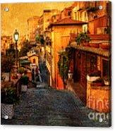 Castel Gandolfo Italy Acrylic Print