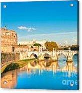 Castel Sant'angelo - Rome Acrylic Print