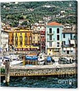 Castelleto Harbor.italy Acrylic Print
