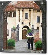 Castello Di Malpaga Acrylic Print
