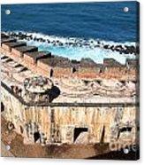Castillo De San Cristobal San Juan Puerto Rico Acrylic Print
