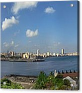 Castillo El Morro Havana Cuba Skyline Acrylic Print