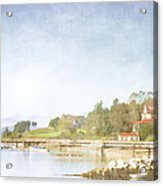 Castine Harbor Maine Acrylic Print