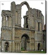 Castle Acre Abbey Acrylic Print